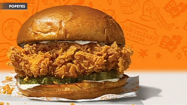 Popeyes' popular chicken sandwich is coming back; Tiffany releasing the Advent calendar of your dreams