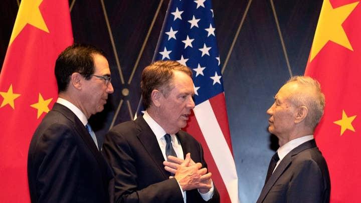 High-level trade talks between China-US resume Thursday