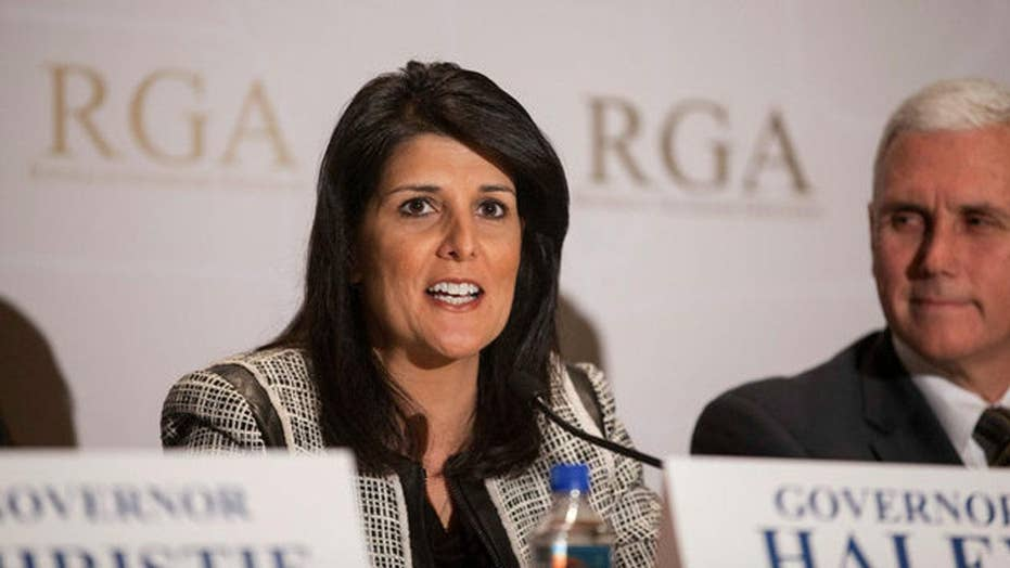 Nikki Haley: 'We must always have the backs of our allies'