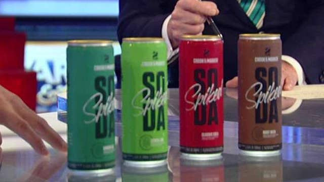 Introducing spiked sodas: Full-flavor, low-calorie and alcoholic