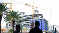 Recovery begins at fallen Hard Rock hotel site