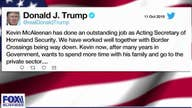 Acting Secretary of Homeland Security stepping down