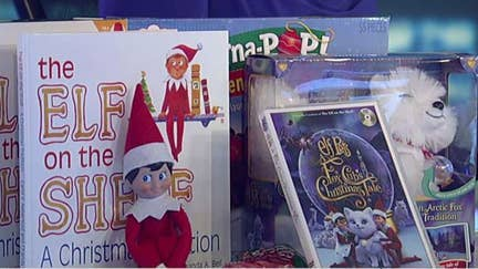 'Elf on the Shelf' holiday tradition takes off in the UK