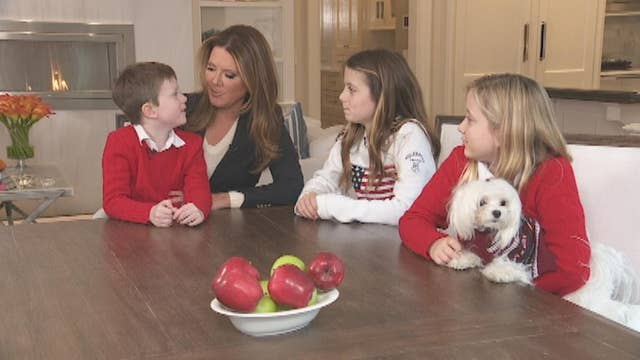 Here's what Trish Regan's kids are thankful for