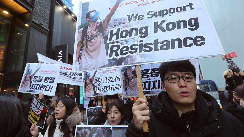 What purpose should US play in Hong Kong criticism movement?
