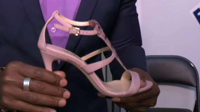 Veteran makes wearable, walkable shoes for professional women