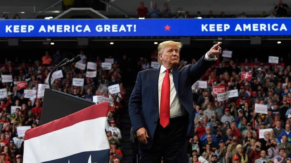 Trump credits tariffs for helping American farmers