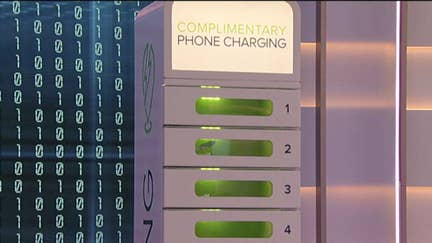 This company lets you charge your phone while you shop