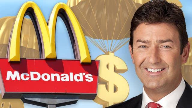 When will McDonald's shares show an upward trend?