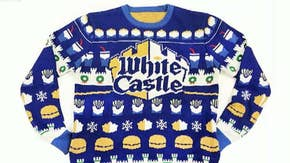Would you spend money on White Castle holiday merch?
