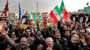 Iranian regime pushes back on protesters, blacks out internet