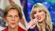Why is Elizabeth Warren part of Taylor Swift's music battle?