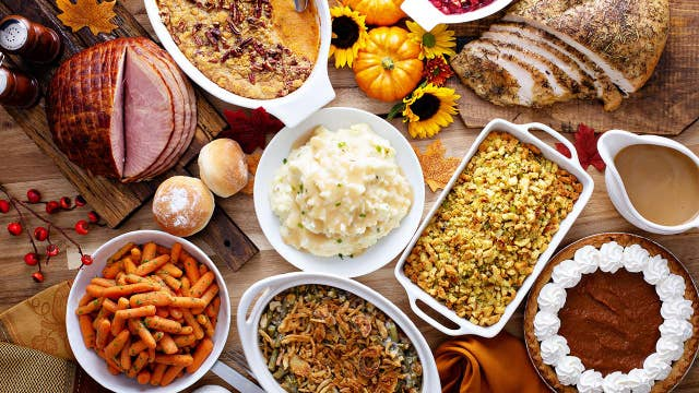 Thanksgiving Day dinner: By the numbers