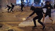 Violent protests in Hong Kong flare up