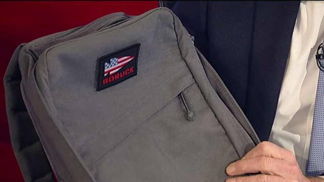 Veteran's rucksack company is worth millions