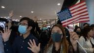 Demonstrators awaiting US to pass Hong Kong human rights act