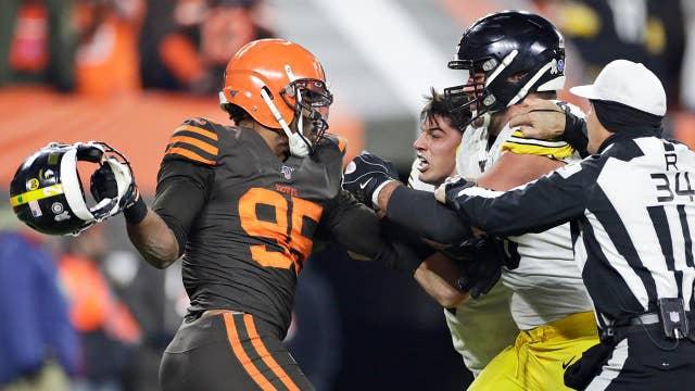 NFL's Myles Garrett 'untouchable' by sponsors after brawl: Analyst