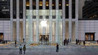 Apple responsible for half of Dow's record-breaking advance