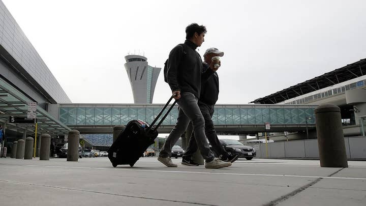 Weather and airline worker protests may affect your holiday travel