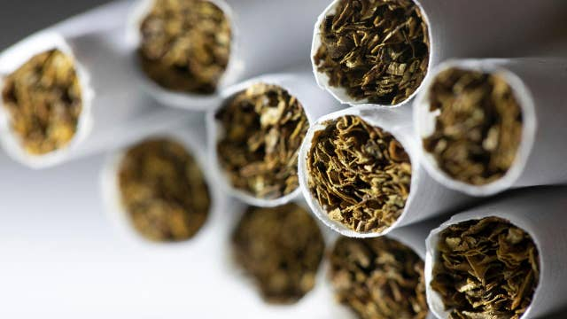 Smoking age raised to 21 but it's up to states to enforce it