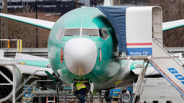 The impact of Boeing's 737 Max production halt