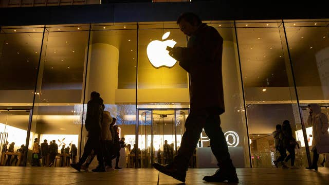 Apple stock up 80 percent since New Year's Eve 2018