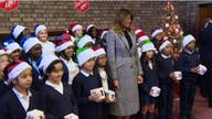 Melania Trump brings American spirit to kids at Salvation Army in London