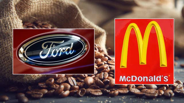 Ford turning McDonald's coffee waste into car parts