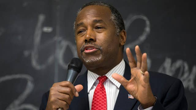 Ben Carson: Local officials must 'stop throwing firebombs' amid homelessness fight