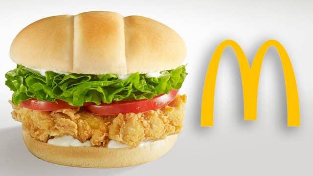 McDonald's testing crispy chicken sandwich