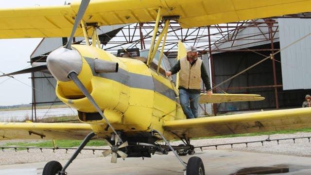 Catholic church in Louisiana blesses parishioners by air