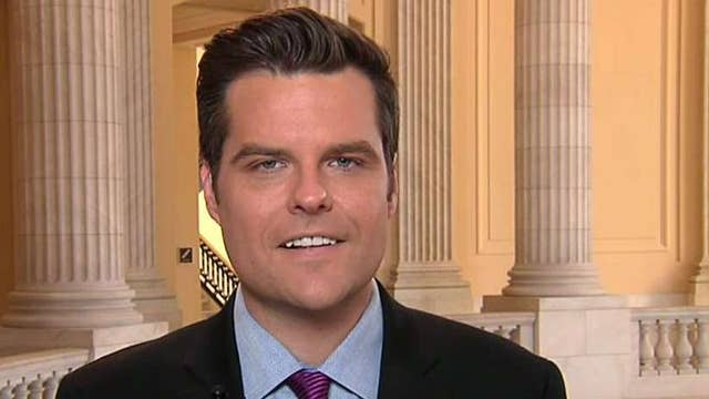 Democrats losing independence, members in their own caucus: Rep. Gaetz