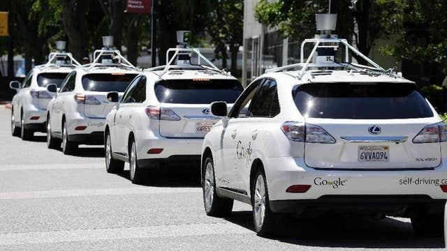 California approved light-duty, self-driving vehicles
