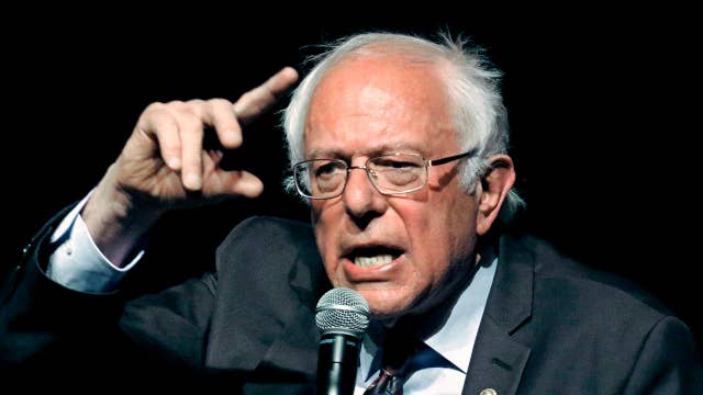 Union workers heckle Sen. Sanders at union event