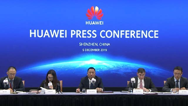 Huawei holds press conference slamming FCC's 'national security threat' label