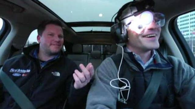 Ford showcases hangover simulation suit to test dangers while driving