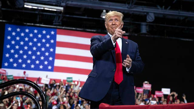 Trump: Michigan is thriving because of Trump admin