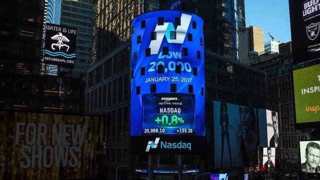 Nasdaq closes for Christmas at its record high