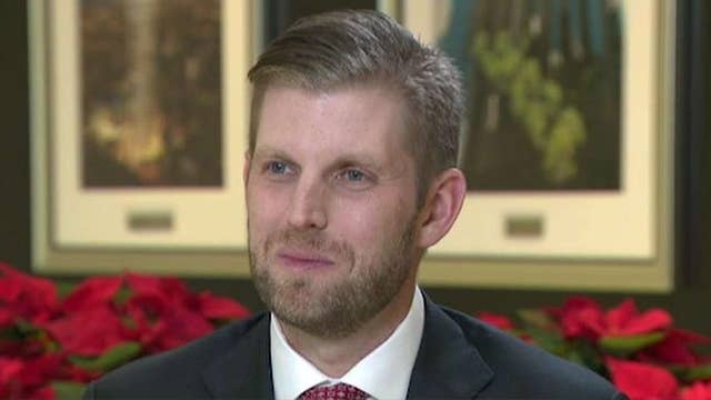 Democrats 'know they can't beat my father': Eric Trump