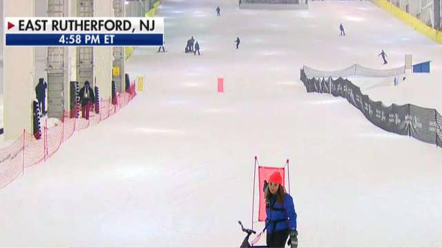 First real-snow, year-round, indoor ski park opens in US