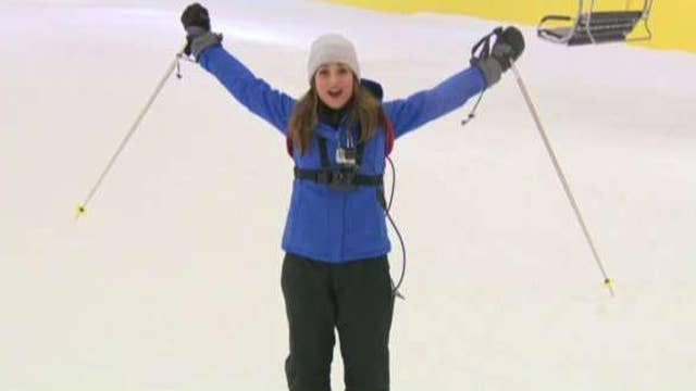 American Dream mall opens first indoor, year-round ski slope