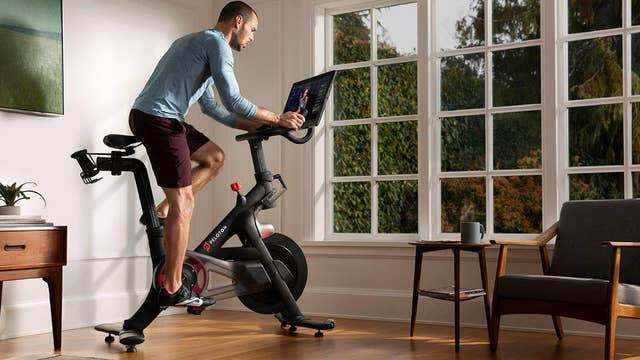 Peloton commercial actor's real-life girlfriend delighted to receive Peloton for Christmas