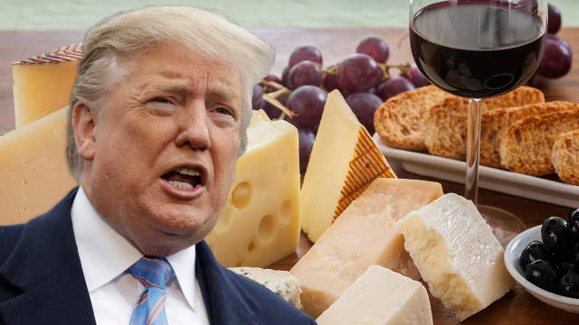 Trump responds to France digital tax, threatens tariffs on French products
