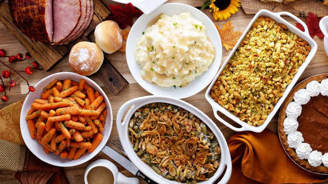 Average holiday meal is thousands of calories