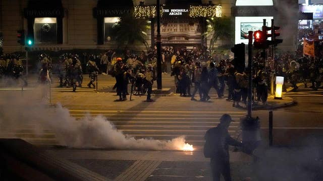Hong Kong protests spark up again, after 'relatively quiet' past weeks