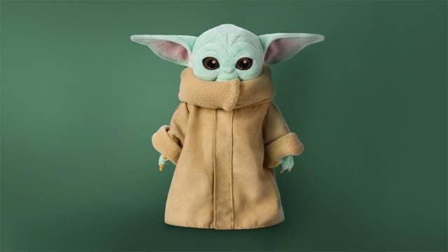 Disney finally selling 'Baby Yoda' plush toy