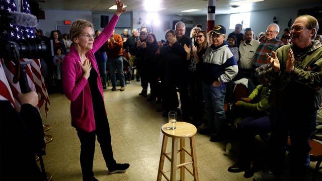 Is Warren backing away from her healthcare plan?