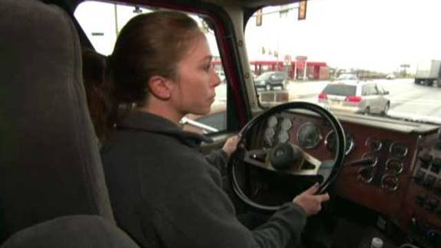 Trucking industry looking for more women to fill driver shortage