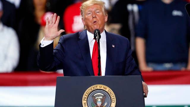 Trump's rally speech in Battle Creek, Michigan