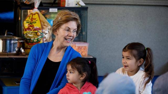 Elizabeth Warren's fundraising is slowing down